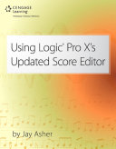 Using Logic Pro X's Updated Score Editor