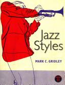 Jazz Styles  with Jazz Demonstration Disc for Jazz Styles Book PDF