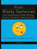 Print Wacky Sentences