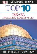 Dk Eyewitness Top 10 Travel Guide Israel Sinai And Petra