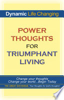 Power Thoughts For Triumphant Living Book