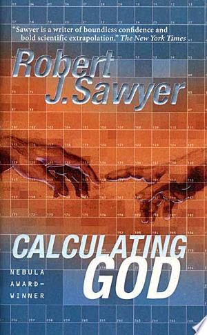 Calculating God banner backdrop