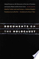 Documents On The Holocaust