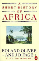 A Short History of Africa Book