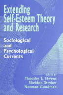 Extending Self Esteem Theory and Research