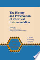 The History and Preservation of Chemical Instrumentation