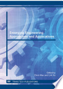 Emerging Engineering Approaches and Applications Book