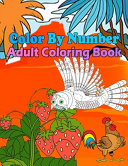 Color By Number Adult Coloring Book Book PDF
