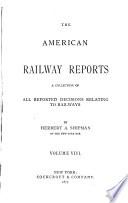 The American Railway Reports