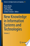 New Knowledge in Information Systems and Technologies