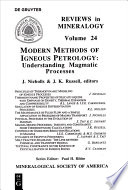 Modern Methods of Igneous Petrology