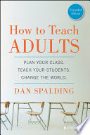 How To Teach Adults Book PDF