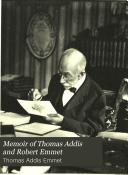 Memoir of Thomas Addis and Robert Emmet