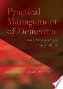 Practical Management Of Dementia Book PDF