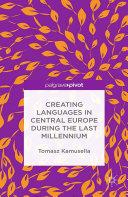 Creating Languages in Central Europe During the Last Millennium [Pdf/ePub] eBook