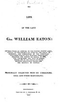 The Life of the Late Gen. William Eaton