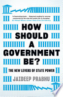 How Should A Government Be  Book