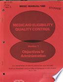 Medicaid Eligibility Quality Control