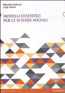 Modelli statistici per le scienze sociali