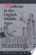 Medicine in the english middle ages faye getz google books medicine in the english middle ages fandeluxe Gallery