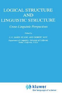 Logical Structure And Linguistic Structure