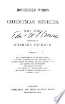Household Words Christmas Stories 1851 1858