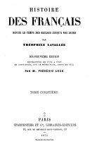 Histoire des Français depuis le temps des Gaulois jusqu'à nos jours