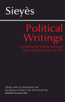 Pdf Sieys: Political Writings Telecharger