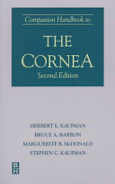 Companion Handbook To The Cornea  Second Edition