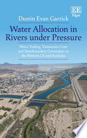 Water Allocation in Rivers under Pressure Book