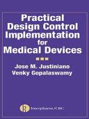 Practical Design Control Implementation For Medical Devices Book PDF