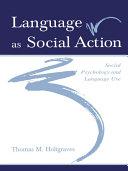 Language As Social Action [Pdf/ePub] eBook