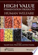 A Handbook On High Value Fermentation Products Volume 2 Book PDF