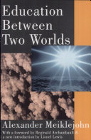 Pdf Education Between Two Worlds Telecharger