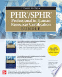 PHR SPHR Professional in Human Resources Certification Bundle  Second Edition