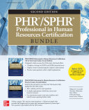 Pdf PHR/SPHR Professional in Human Resources Certification Bundle, Second Edition Telecharger