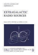Extragalactic Radio Sources