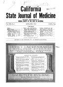 California State Journal of Medicine