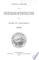 Biennial Report of the State Board of Horticulture Book PDF