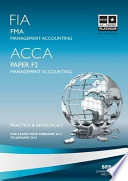 FIA, ACCA, for Exams from February 2013 to January 2014