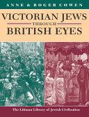 Victorian Jews Through British Eyes Book