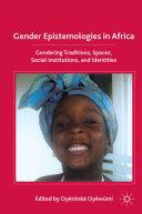 Gender Epistemologies in Africa [Pdf/ePub] eBook
