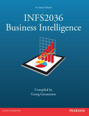 Cover of INFS2036 Business Intelligence (Custom Edition)