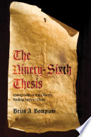 The Ninety Sixth Thesis