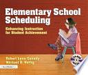 Elementary School Scheduling