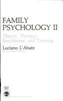 Family Psychology Ii