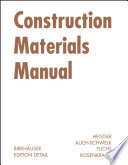 Construction Materials Manual
