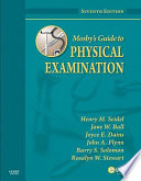 Mosby S Guide To Physical Examination Book PDF