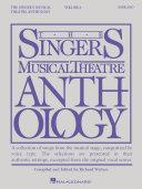 Pdf Singer's Musical Theatre Anthology - Volume 6 Telecharger