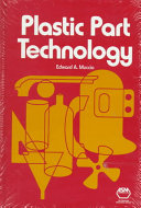 Plastic Part Technology Book